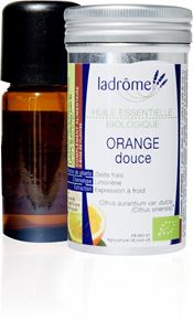 Huile Essent Orange Douce 10ml Ladrome BIO