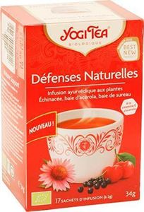 Infusion Defenses Naturelles Yogi Tea 17x1.8g BIO