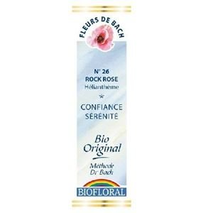 Fleurs De Bach 26 Rock Rose / Heliantheme 20ml Demeter BIO