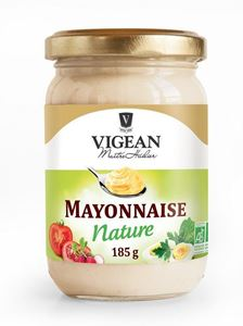 Mayonnaise Nature Pot 185g Vigean BIO