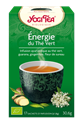 Infusion Energie Du The Vert Yogi Tea 17x1.8g BIO