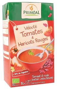 Veloute Tomate Haricots Rouges 1l Primeal BIO
