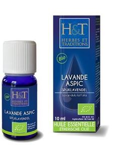 Huile Essent Lavande Aspic 10ml H&t BIO