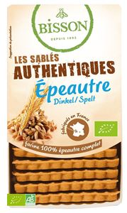 Biscuits Authentiques Epeautre Bisson 175g BIO