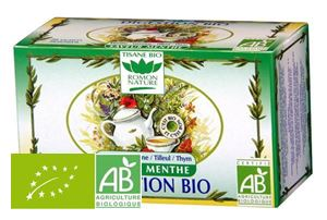 Infusion Digestion Menthe Romon Nature 20x1.6g BIO