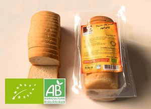 Pain De Mie Nature 350g Pinabel BIO