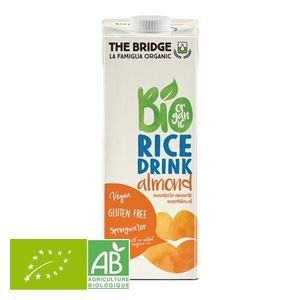 Boisson Vegetale Riz Amande 1l The Bridge BIO