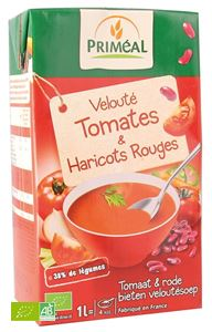 VELOUTE TOMATE - HARICOTS ROUGES 1L PRIMEAL BIO