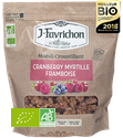 MUESLI CROUSTILLANT FRUITS ROUGES FAVRICHON 450G BIO
