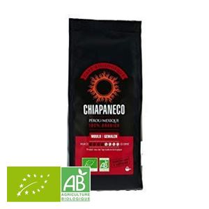 Cafe Moulu Perou/mexique 100% Arabica 250g Chiapaneco BIO