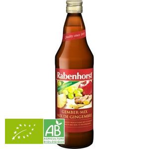 Jus De Fruits Mix De Gingembre 750ml Rabenhorst BIO