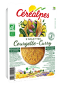Galettes Courgette Curry 2x90g Cerealpes BIO