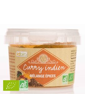 Curry Indien 100g Idbio BIO