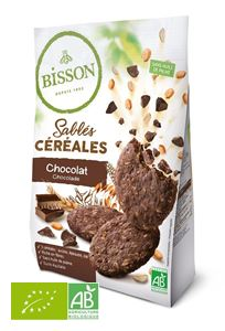 Biscuits Sables Cereales Chocolat 200g Bisson BIO