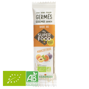 Barre De Cereales Germees Abricot Figue 33g Germ'line BIO