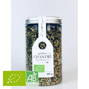 Graines De Chanvre Decortiquees 200g France Philia BIO